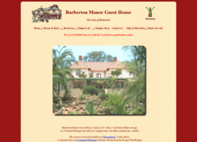 barbertonmanor.com