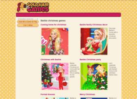 barbie-christmas.goldhairgames.com