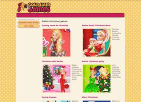 barbie-christmas.goldhairgames.com