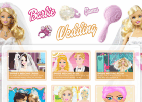 barbie-wedding-games.com