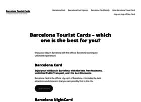 barcelonacards.com