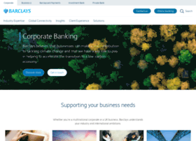 barclayscorporate.com
