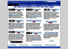barcodingfonts.com