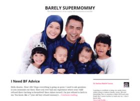 barelysupermommy.com