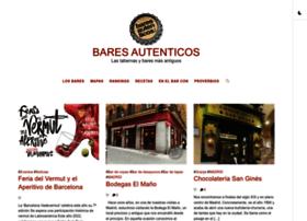 baresautenticos.com