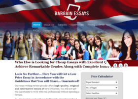 bargainessays.co.uk