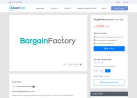 bargainfactory.com