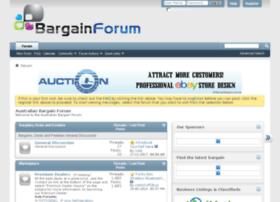 bargainforum.com.au