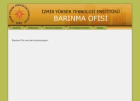 barinmaofisi.iyte.edu.tr