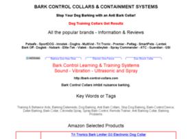 bark-control-collars.com
