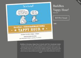 barkboxtitosyappyhour.splashthat.com