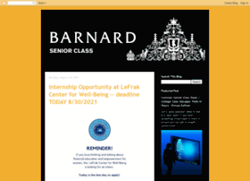 barnardsenioryear.blogspot.com
