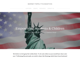 barneyfamilyfoundation.org