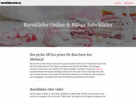 barnkladeronnet.se