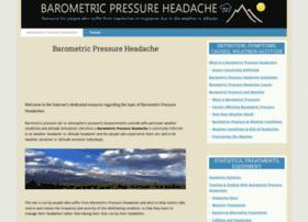 barometricpressureheadache.com
