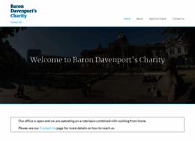 barondavenportscharity.org