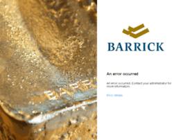 barrickgold.service-now.com