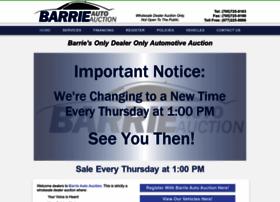 barrieautoauction.com