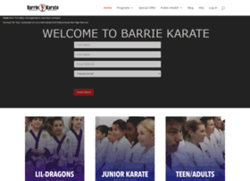 barriekarate.com