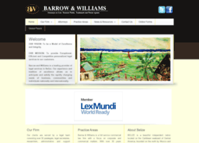 barrowandwilliams.com