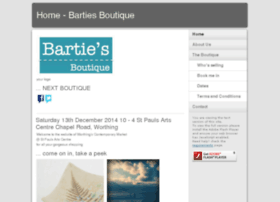 bartiesboutique.co.uk