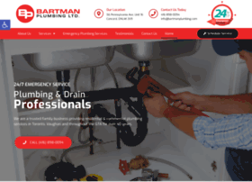 bartmanplumbing.com