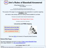 baseball-rules.com