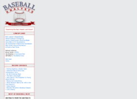 baseballanalysts.com