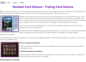 baseballcardsleeves.net