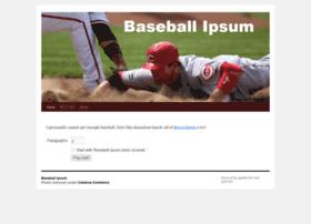 baseballipsum.apphb.com