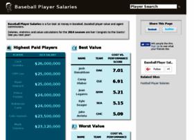 baseballplayersalaries.com