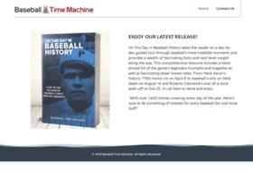 baseballtimemachine.com