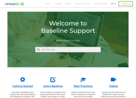 baselinesupport.campuslabs.com