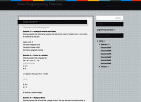 Basicprogrammingexercises.blogspot.com