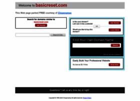 basicreset.com