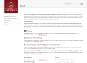 basis.uark.edu