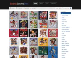 basketballcaricaturetshirts.com