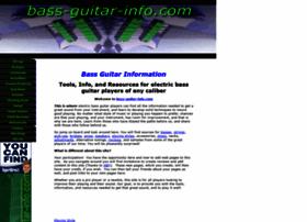 bass-guitar-info.com