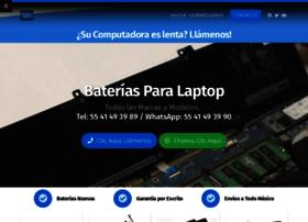 bateriasdelaptop.com.mx