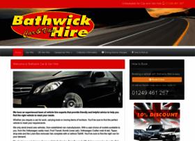 bathwickcarandvanhire.co.uk