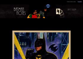 batmannotes.com