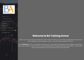batrainingschool.com
