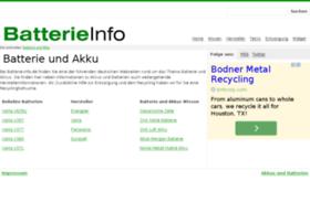 batterie-info.de
