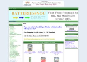batteries4youdirect.co.uk