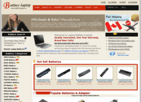 battery-laptop.ca