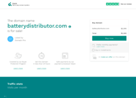 batterydistributor.com
