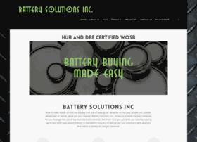 batterysolutionsinc.com