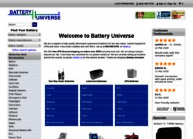 batteryuniverse.com