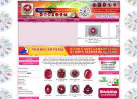 batu permata ruby ruby star david art gems and jewelry menjual batu ...