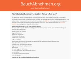 bauchabnehmen.org